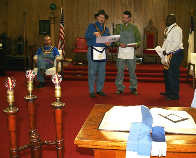 Farmers Masonic Lodge # 168 Presents 2 For 3 in Bibs
